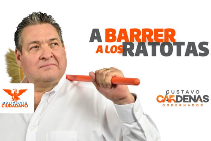 Campaña de Cárdenas por la gubernatura