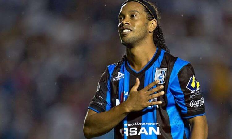 Ronaldinho recuerda sus días en Querétaro con mensaje por 70 aniversario