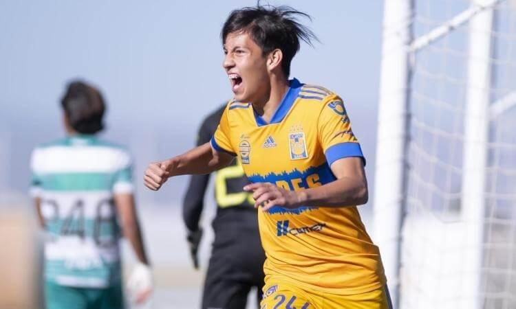 Tamaulipeco anota doblete con Tigres Sub-17