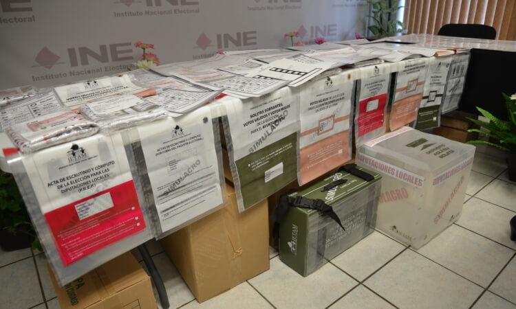 Comienzan los simulacros de elecciones en Tamaulipas