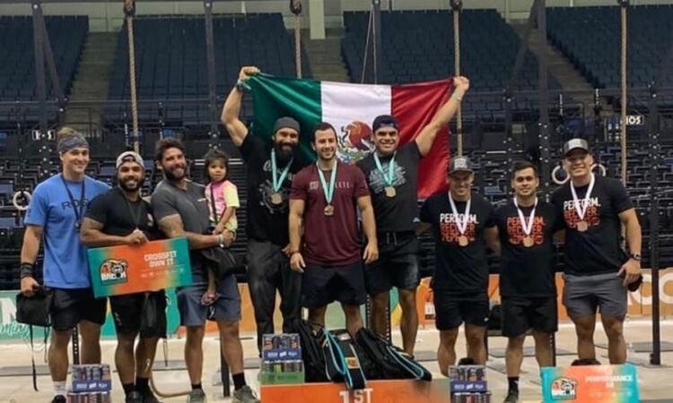 Tamaulipeco sube a podio en competencia internacional de Crossfit