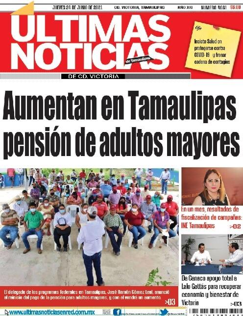 portada ultimasnoticias 24jun21