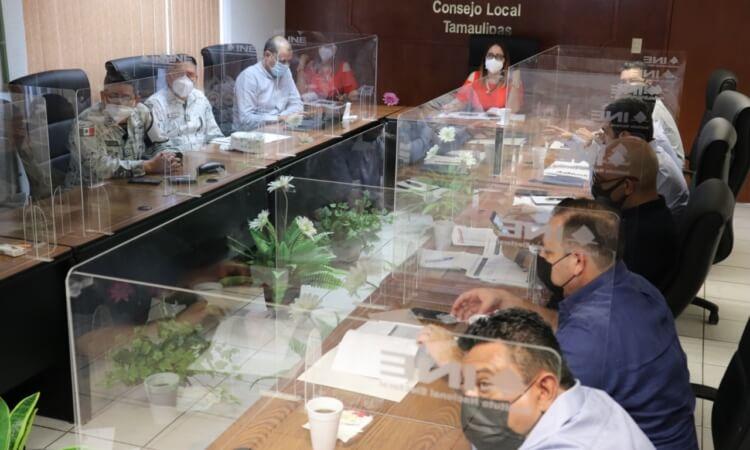 Listo el operativo de vigilancia para Consulta Popular en Tamaulipas