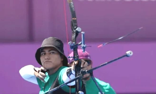 Alejandra Valencia se instala en los octavos de final de tiro con arco