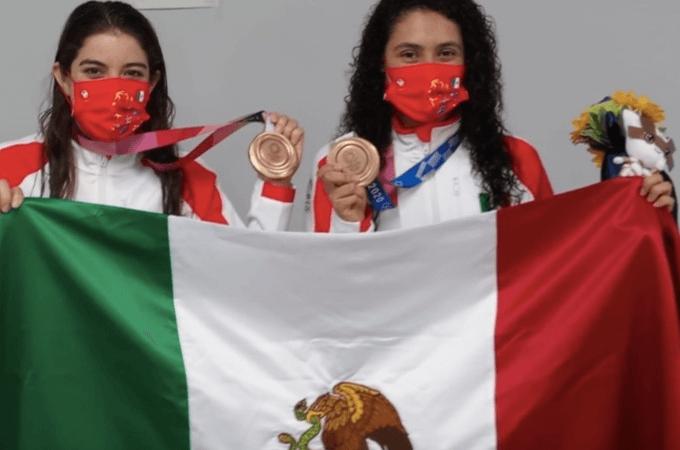 Alejandra Orozco y Gabriela Agúndez le dan a México su segunda medalla en Tokio, se quedan con el bronce