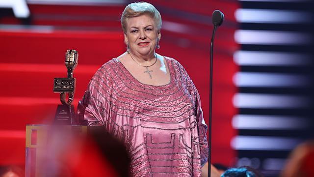 Paquita la del Barrio fue reconocida por su trayectoria artística.