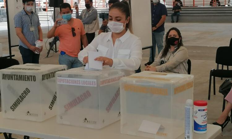 Capacitó el INE a 36 mil funcionarios de casilla en Tamaulipas