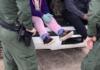Abandonan cinco niñas en frontera sobre el Río Bravo en Eagle Pass, Texas