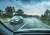 Recomendaciones para manejar de forma segura durante la lluvia