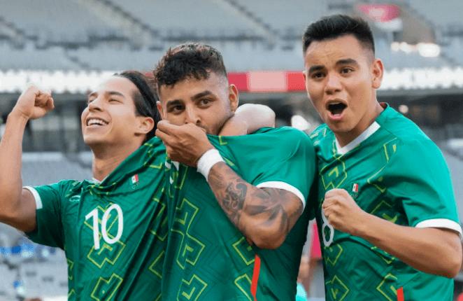 México golea 4-1 a Francia en su debut de los Juego Olímpicos Tokio 2020