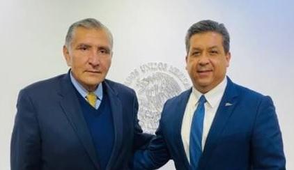 García Cabeza de Vaca se reunió con el Secretario de Gobernación