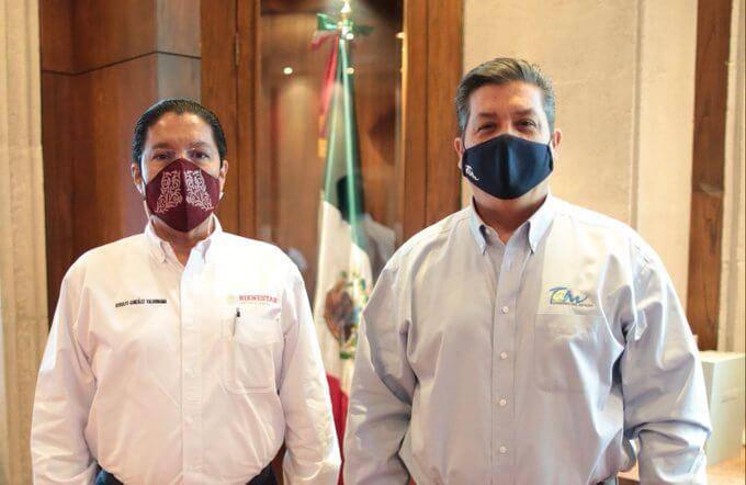 Reunión en voz baja… Cabeza de Vaca y Rodolfo González Valderrama