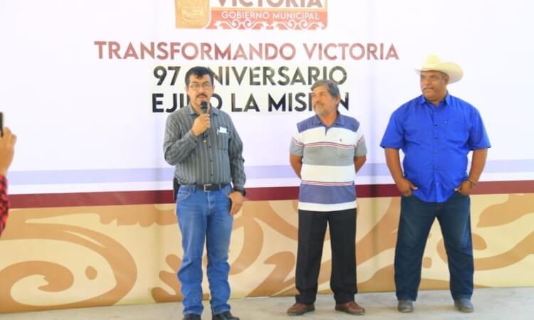 Gobierno Municipal y Ejido La Misión celebran juntos 97 aniversario