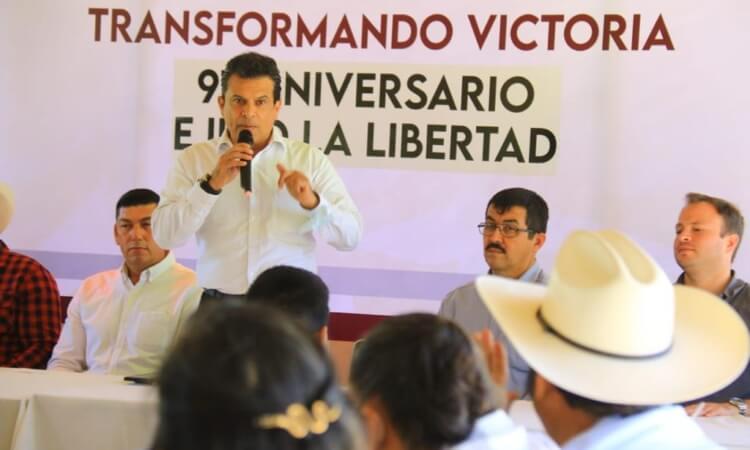 En el ejido «La Libertad» coinciden ejidatarios con Lalo Gattás