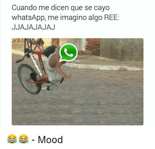 Se cayó WhatsApp señores